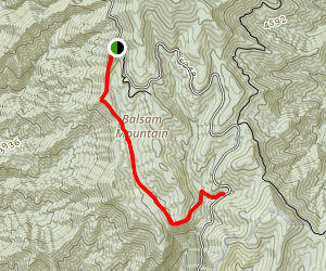 Flat Creek Trail Map