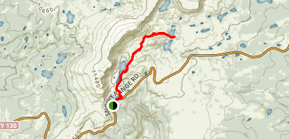 Lakes Trail Map