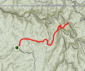 Horseshoe Bend Trail Map