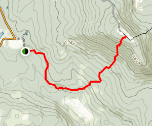 Mont Hereford Trail Map