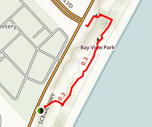 Bay Bluffs Boardwalk Trail Map