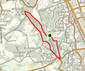Harford Glen Trail Map