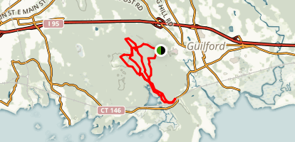 Westwoods Trail Map