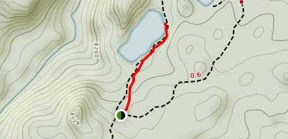 Creedmore Lakes Trail Map