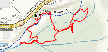 Mill Creek Nature Center Trail Map