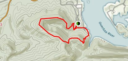 Horseshoe Mountain Trail Map