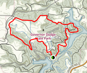 Governor Dodge State Park Trail Map