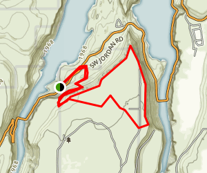 Tam-a-lau Trail at Cove Palisades State Park Map