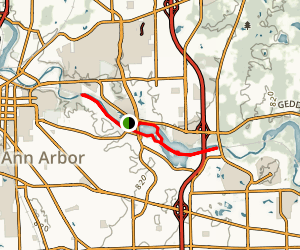 Ann Arbor Ramble Trail Map