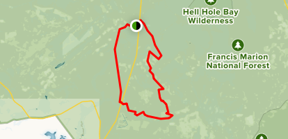 Jerico Horse Trail Map