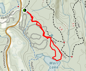 Marl Lake Trail Map