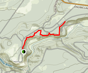 Mud Mountain Rim Trail Map