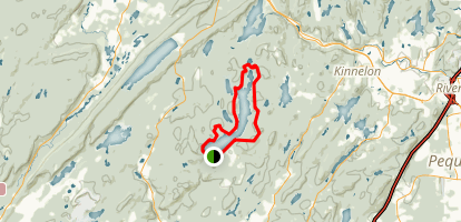 Splitrock Reservoir Trail Map
