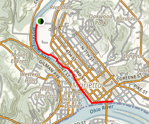 Marietta River Trail Map