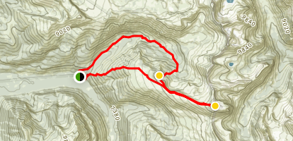 Table Mountain Trail Map