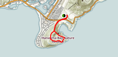 Koko Head Rim Trail Map