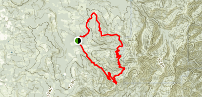 Larch Mountain Loop Trail Map