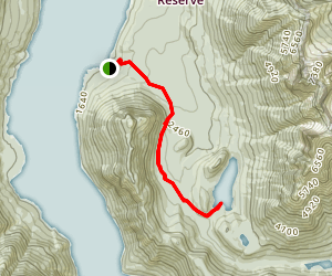 Hozomeen Lake Trail Map