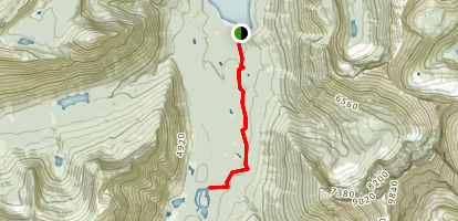 Kootenai Lakes Trail Map