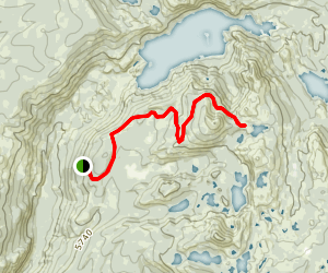 Bowman Mountain Trail Map