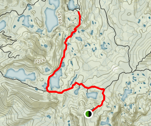 Penner Lake Trail Map