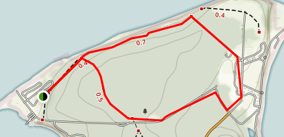 Fort Flagler Trail Map