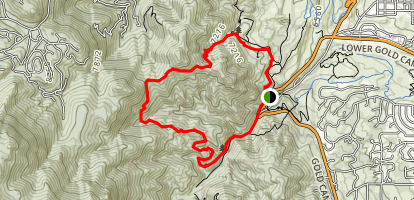 Palmer Trail Map