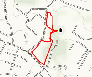 Briarwood Trail Map