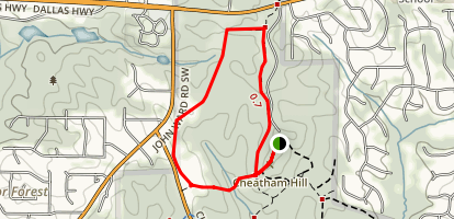 Cheatham Hill Trail  Map