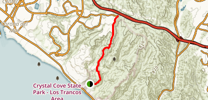 Redtail Ridge Trail Map
