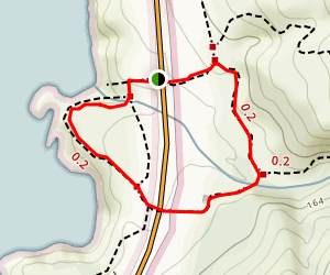 South Plateau-Mound Meadow Loop Trail Map