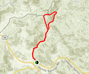 Hollenbeck Canyon Trail Map
