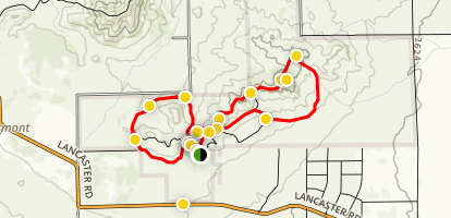 Antelope Loop Trail Map