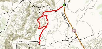 Mountain Palm Springs Loop Trail Map