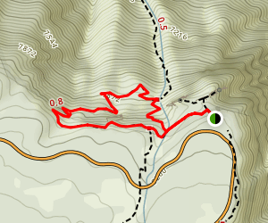 Oak Flat Loop Trail Map