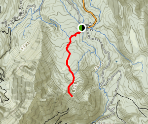 Hensky Overlook Trail Map
