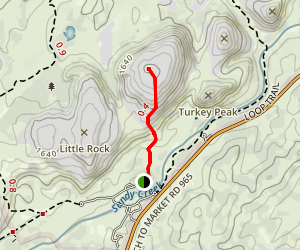 Enchanted Route Summit Trail Map