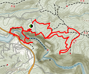 High Bluff Trail Map