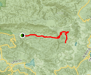 Miller Canyon Trail Map