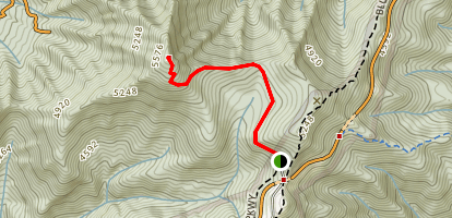 Mount Pisgah Trail Map