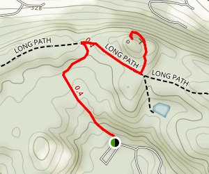 Little Tor Trail Map
