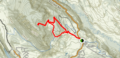 Snodgrass Mountain Trail Map