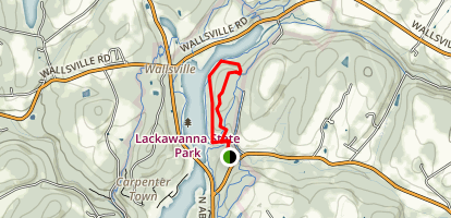Lee Hill Trail Map