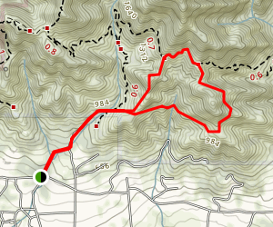Saddle Rock Trail (CLOSED) Map