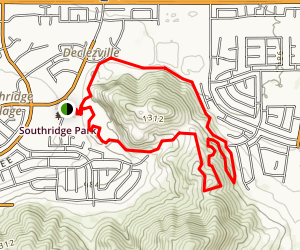 Southridge Park Trail Map