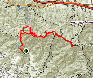Stough Canyon Trail Map