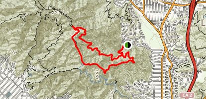 Beaudry Loop Map