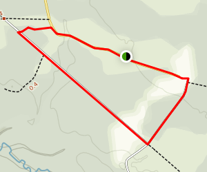 The Train Station Loop Trail Map