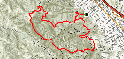 Ringtail Cat Trail to Madrone Trail Loop Map
