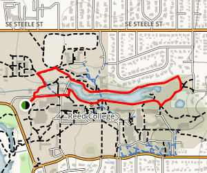 Crystal Springs and Johnson Creek Trail Map